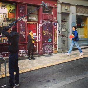 Premier jour de tournage. Photo compte instagram des Engagés