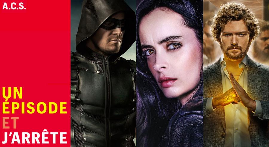 #Podcast : Un Épisode et J'arrête avec les super-héros