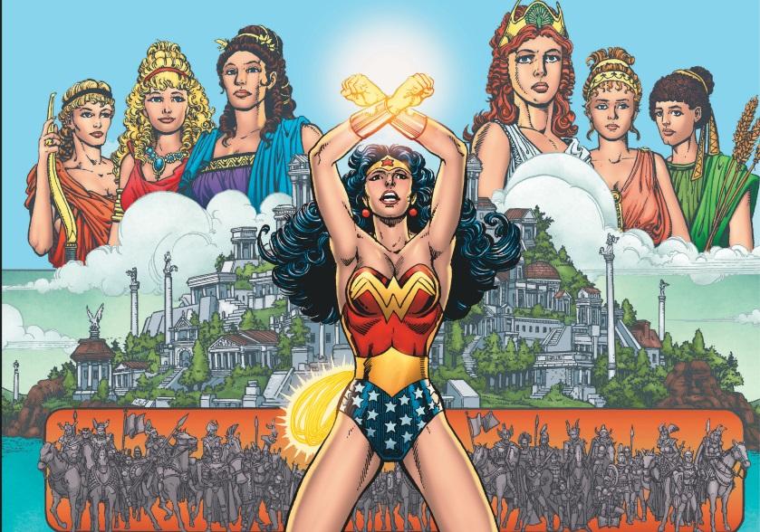 #Critique Wonder Woman (T.1) Dieux et Mortels de George Pérez