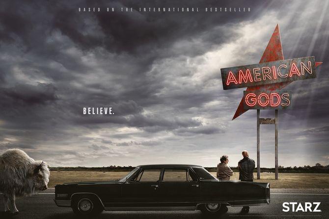 #Analyse American Gods : vision, adaptation, carnation