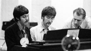 Paul, John et Georges Martin