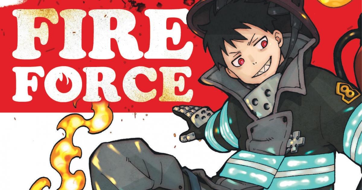 #Critique Fire Force (T. 1)