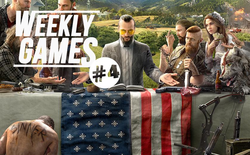 #news Weekly Games #4