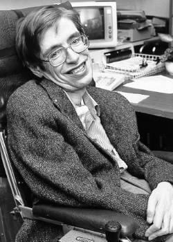 Stephen Hawking (avec l'autorisation de la Nasa StarChild)