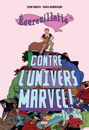 ecureuillette-contre-l-univers-marvel-comics-volume-1-tpb-hardcover-cartonnee-283267