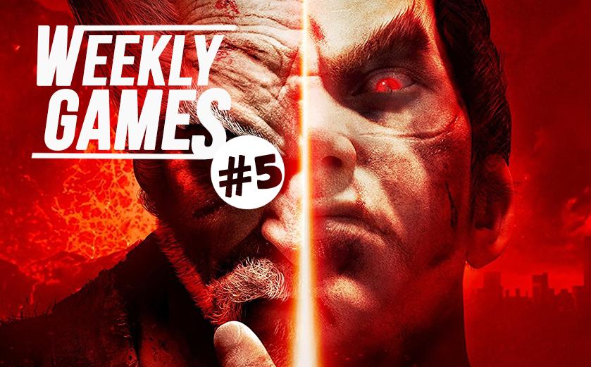 #news Weekly Games #5