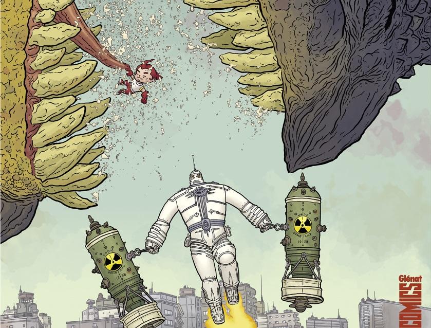 #Critique The Big Guy and Rusty the Boy Robot de Frank Miller et Geof Darrow