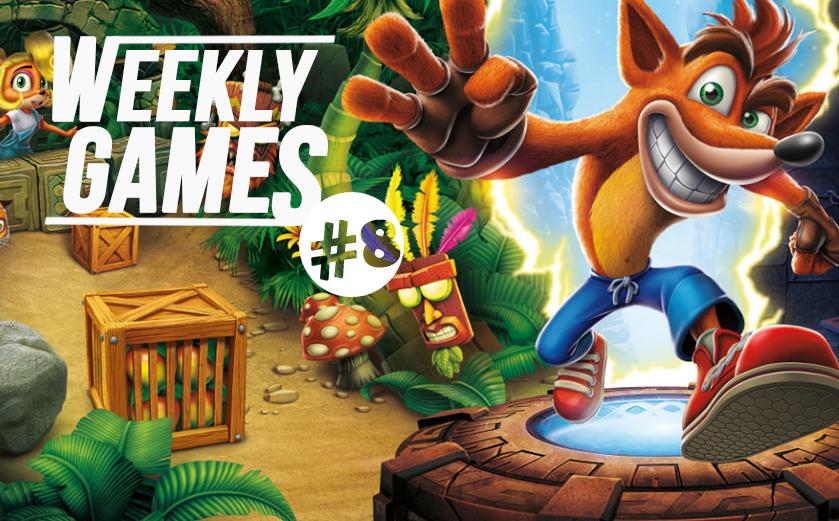 #news Weekly Games #8