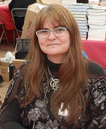 Nathalie Dau aux Imaginales en 2016.