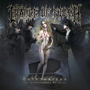 Cradle Of Filth - Cryptoriana The Seductiveness Of Decay - Pochette