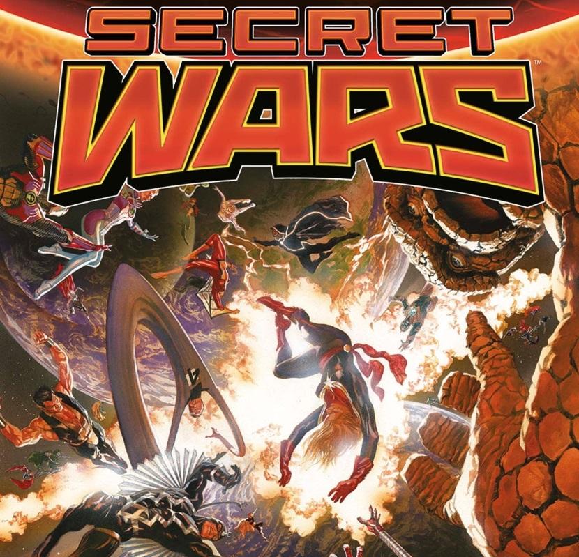 #Critique Secret Wars par Jonathan Hickman et Esad Ribic