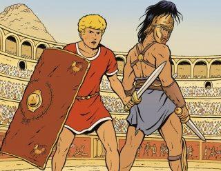 #Critique Alix, le serment du gladiateur de Martin, Jailloux et Breda