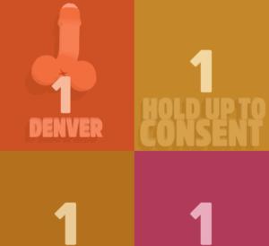 Écran de consentement mode party