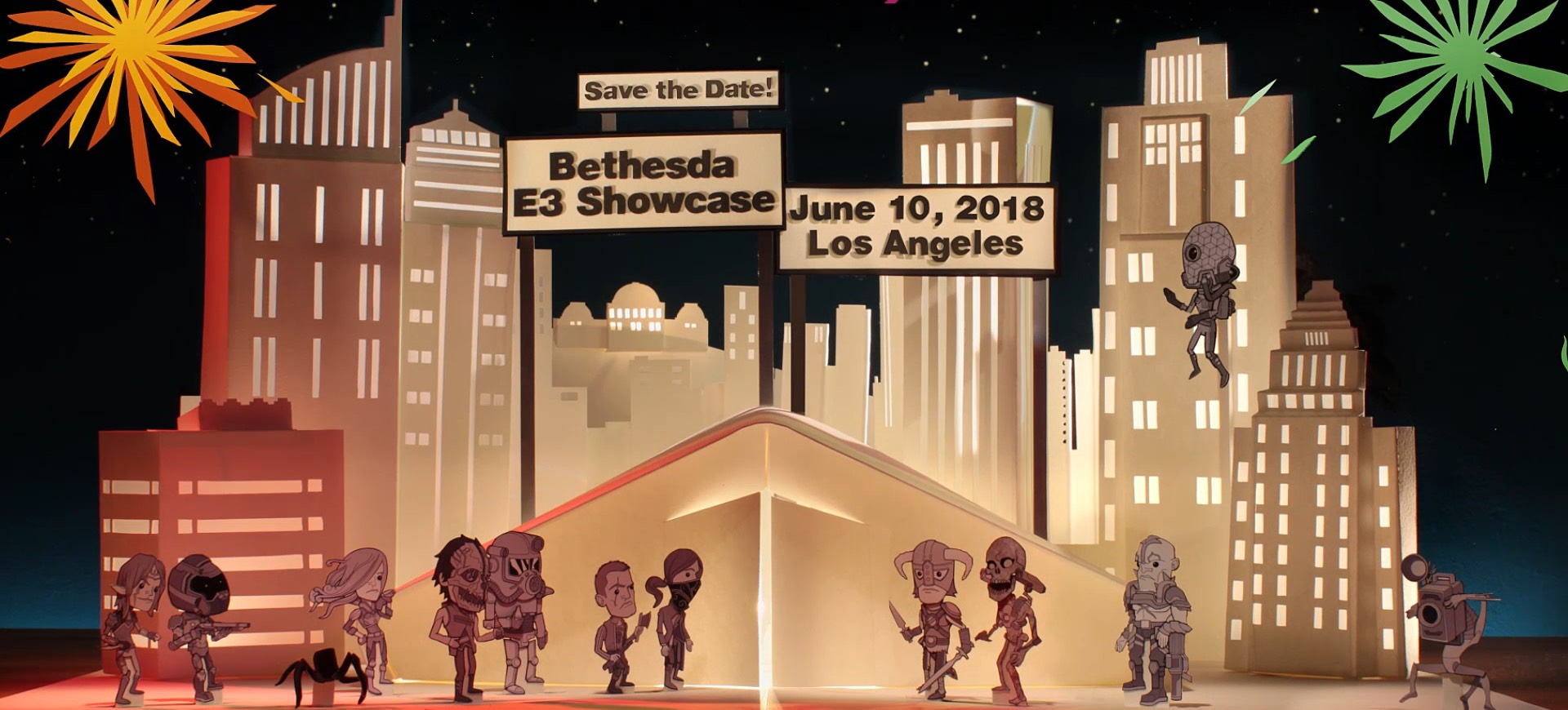E3 2018 : Conférence Bethesda