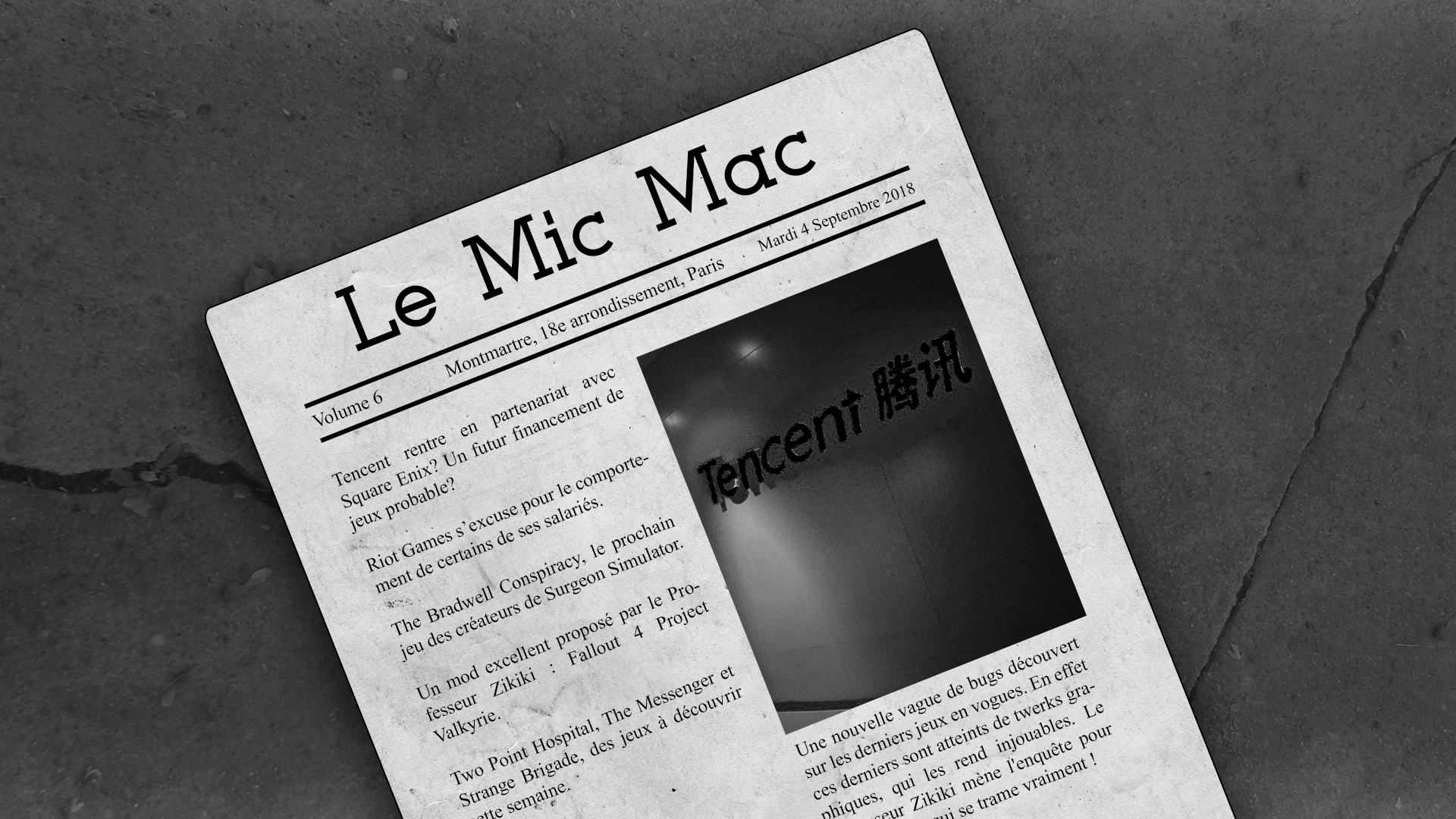 Au Tour du Mic Podcast – Mic Mac #6 : 28/08/2018 au 03/09/2018