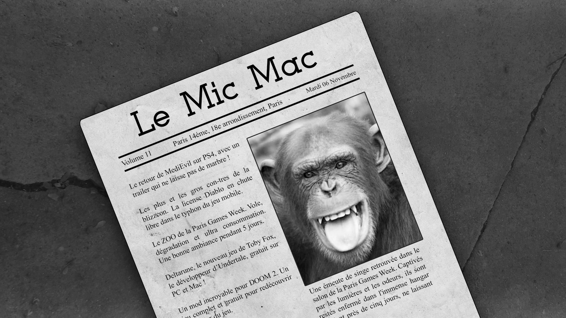 Au Tour du Mic – Mic Mac #11: 24/10/2018 au 05/11/2018