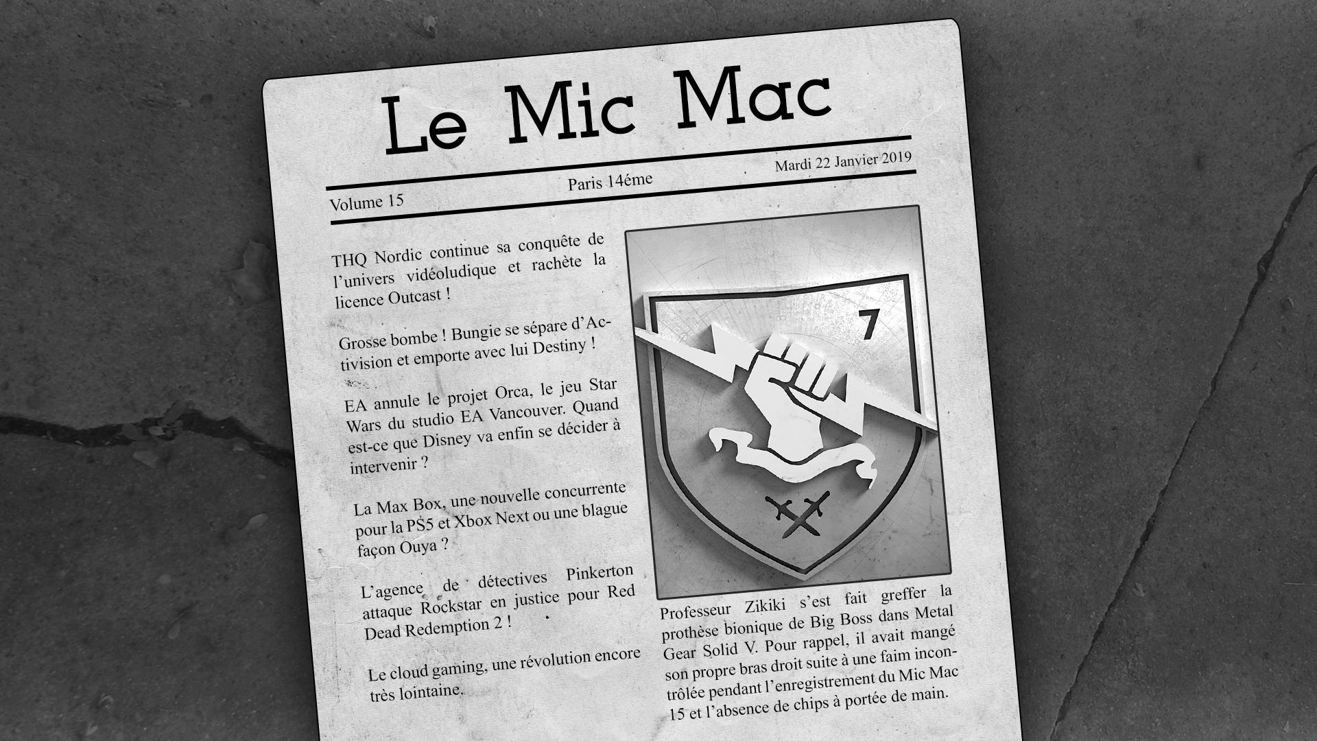 Au Tour du Mic – Mic Mac #15: 08/01/2019 au 21/01/2019
