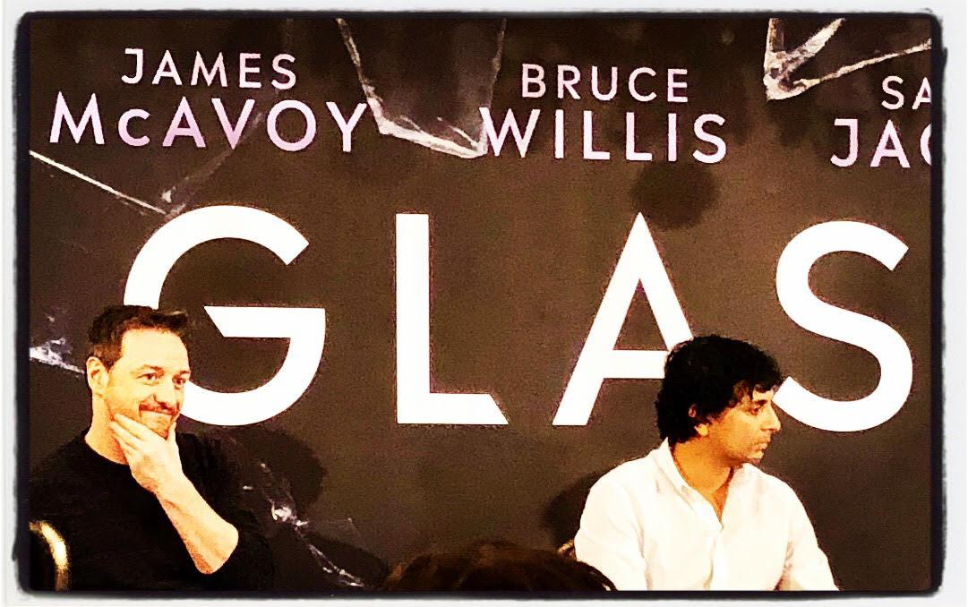 Interview M. Night Shyamalan et James McAvoy