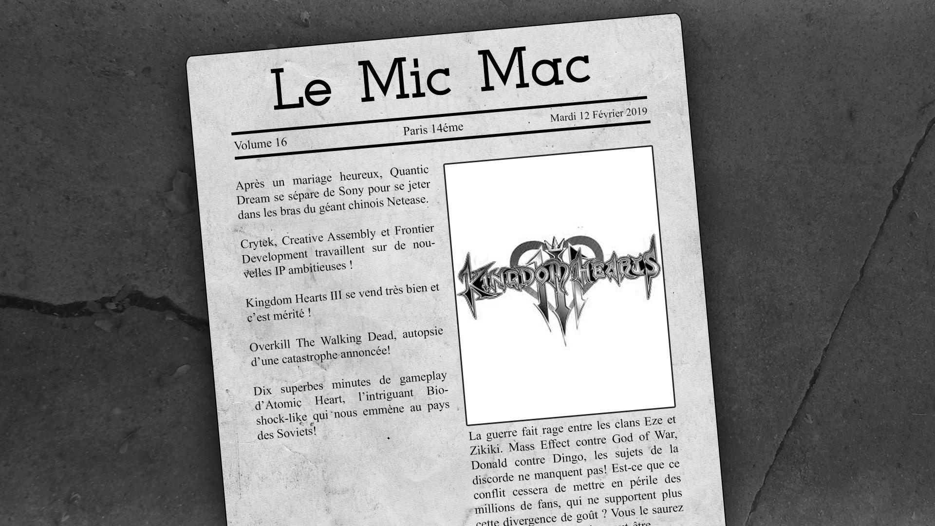 Au Tour du Mic – Mic Mac #16 : 22/01/2019 AU 12/02/2019