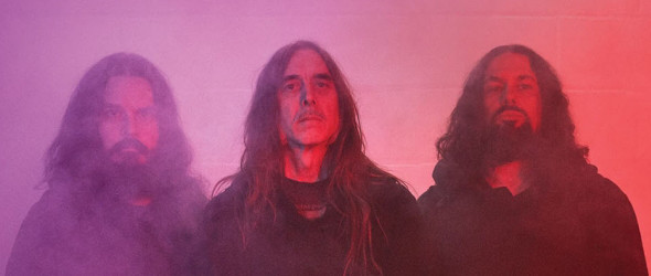 Photo du groupe de drone metal américain Sunn O)))