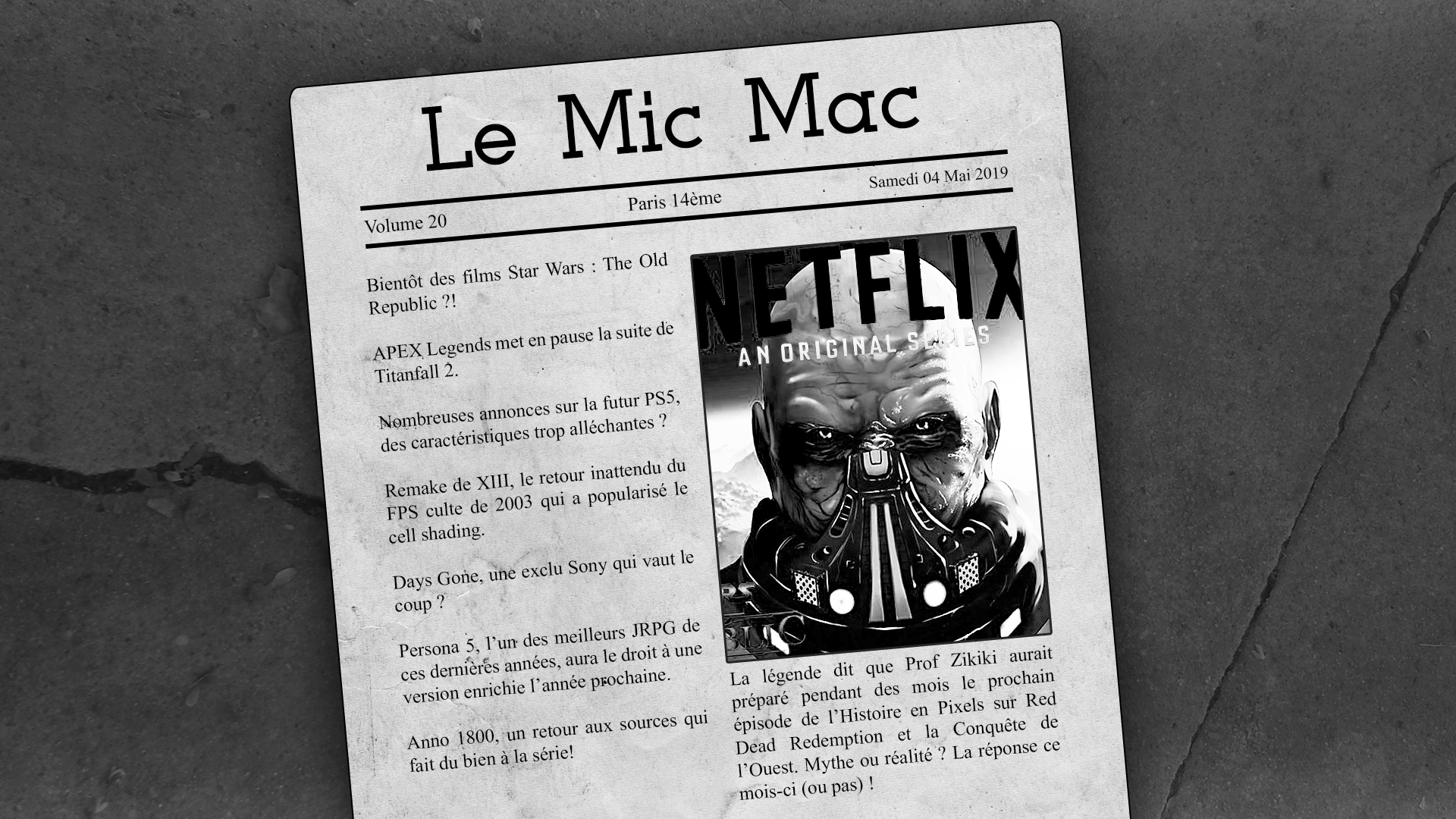Au Tour du Mic – Mic Mac #20: 14/04/2019 au 29/04/2019