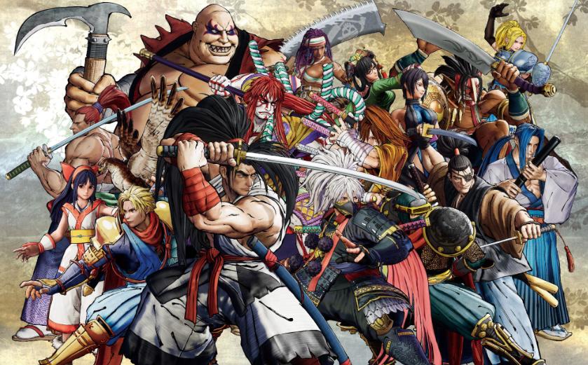 Samurai Shodown : mettre les bushi-doubles