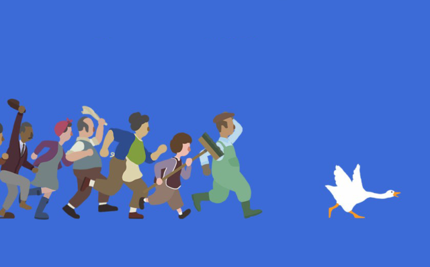 Untitled Goose Game: l'oie c'est moi