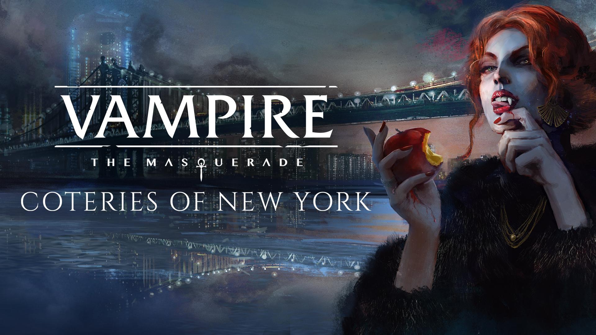 Vampire: Coteries of New York, un visual novel découverte
