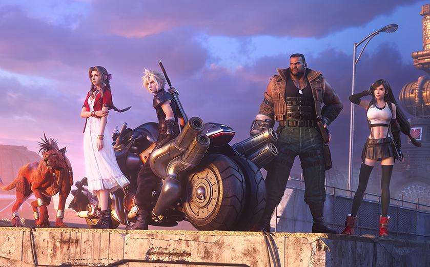 Final Fantasy VII Remake : Midgar au gorille