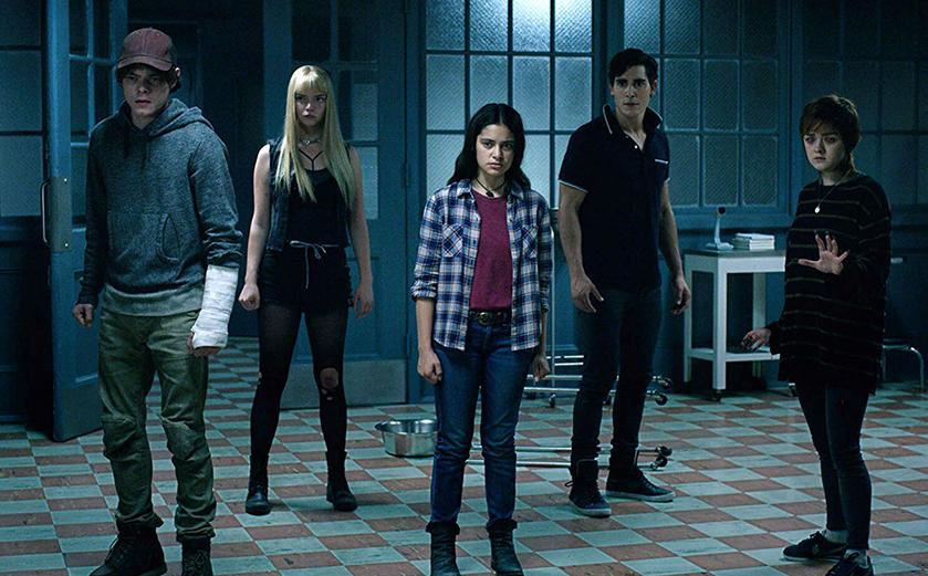 Les Nouveaux Mutants: bouffis contre les vampires