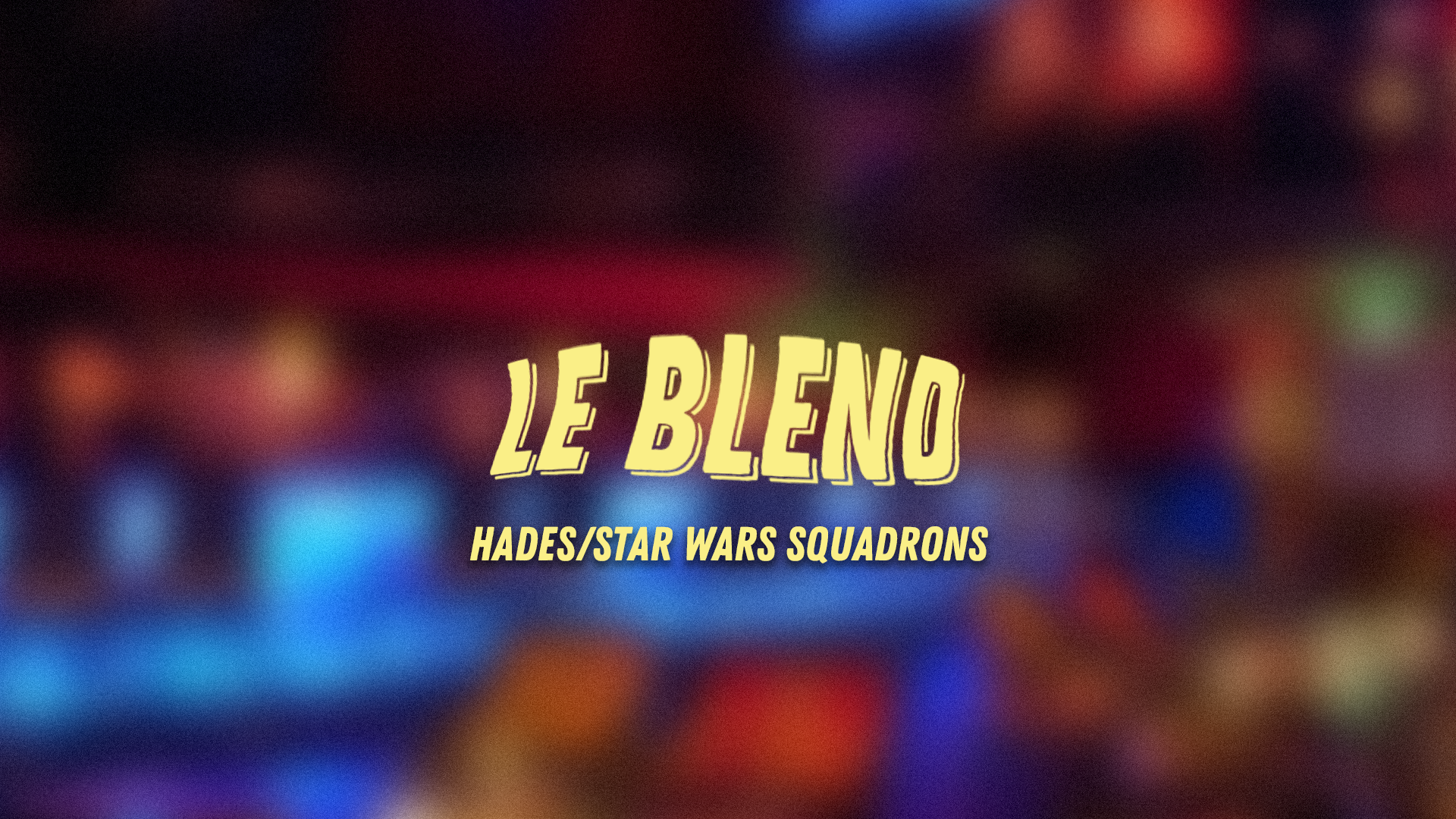 Blend #7 Star Wars: Squadrons/ ePES 2021/Hades ET The Messenger